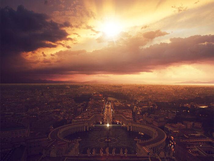 Vatikanen Rom Tavla DWdesign