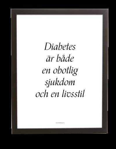 Diabetes | Obotlig livsstil