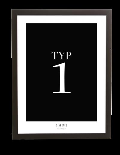 Diabetes | Typ 1 poster