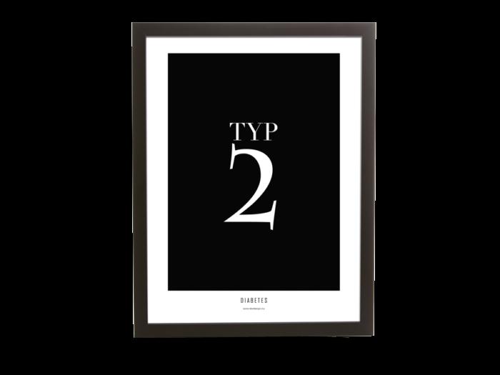 Diabetes | Typ 2 poster
